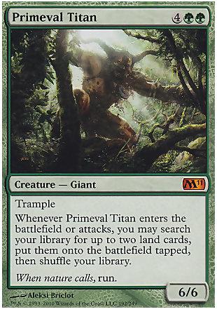 image of card Primeval Titan