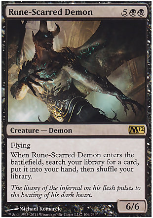 image of card Rune-Scarred Demon