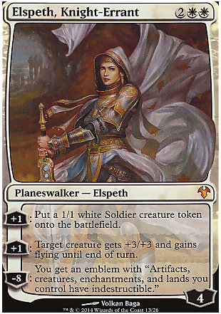 image of card Elspeth, Knight-Errant