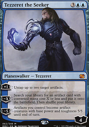 image of card Tezzeret the Seeker
