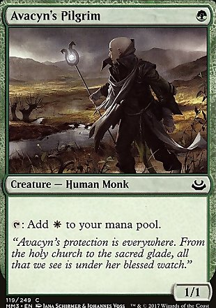 image of card Avacyn's Pilgrim