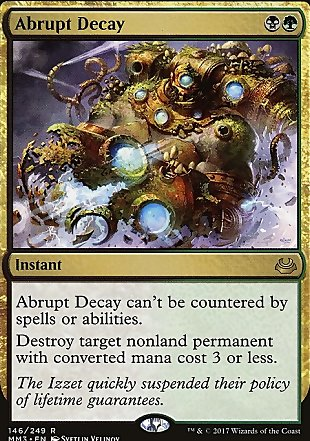 image of card Abrupt Decay