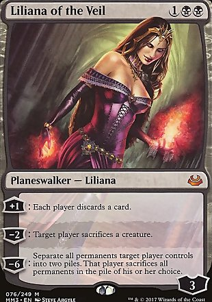 image of card Liliana of the Veil