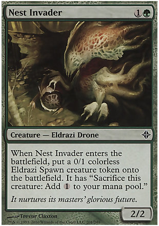 image of card Nest Invader