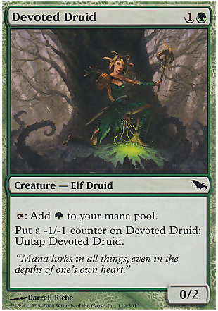 image of card Devoted Druid