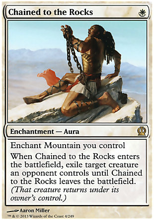 image of card Chained to the Rocks