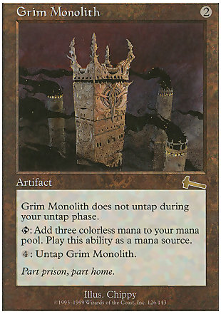 image of card Grim Monolith