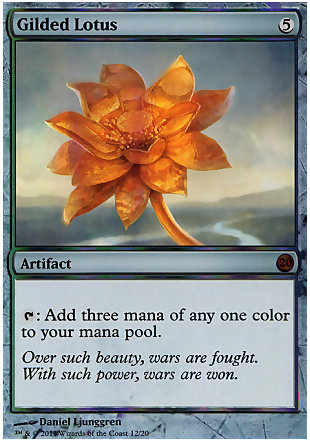 image of card Gilded Lotus