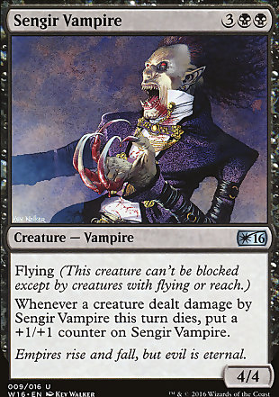 image of card Sengir Vampire